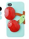 iPhone 4/4S를위한 벚꽃 장식 거울 뒤 케이스 (분류 된 색깔)