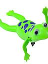 Grenouille nager avec le vent (couleurs aléatoires)