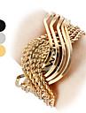 vrouwen quartz analoog s-vormige stalen band armband horloge (verschillende kleuren)