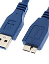 Cable Male USB 3.0 - Male Micro USB 3.0