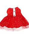 Cat / Dog Dress Red Spring/Fall Stars Wedding