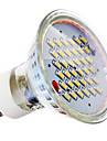 4W GU10 Focos LED MR16 36 SMD 3014 280 lm Blanco Calido AC 100-240 V