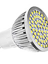3W GU10 Lampadas de Foco de LED MR16 60 SMD 3528 240 lm Branco Natural AC 110-130 / AC 220-240 V