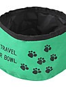 Voyage Bowl pliable pour animaux de compagnie (couleur aleatoire)