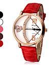 Women\'s Love\'s Arrow Pattern Dial PU Leather Band Quartz Analog Wrist Watch (Assorted Colors)