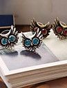 Foreign Trade Of The Original Single Fine Diamond Earrings Owl Earrings E69 E192