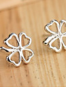 Stud Earrings Leaf,Jewelry Alloy Daily