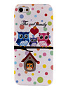 Owl Family Soft TPU Cover Case for iPhone 5/5S