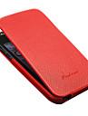 아이폰 5/5s/5g를위한 호화스러운 진짜 가죽 플립 몸 전체 케이스 (분류 된 색깔)