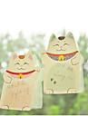 Notas autoadhesivas gato Plutus (color al azar)