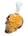 500ml groot formaat kristal hoofd wodka schedel fles met retail-pakket