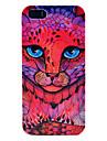 tete de leopard rose concoit le cas dur pour iphone 5/5s