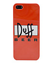 uusi Duff Beer muovinen kotelo iPhone 5/5s