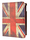 360 Degree Rotating Design the Union Jack Pattern PU Full Body Case with Stand for iPad Air
