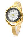 Mulheres Relogio de Moda Bracele Relogio Quartzo Lega Banda Elegantes Prata Dourada Dourado Branco Preto