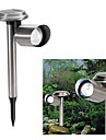Cool White Light LED Solar Power Outdoor Garden Yard Stainless Rechargeable LED Light Lawn Lamp