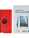 minimalistische Mode PU-Leder Ganzkoerper-Fall mit Schutzfolie fuer Samsung Galaxy Tab 7.0 P3200 3