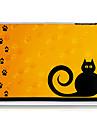 voetafdrukken kat plastic achterkant van de behuizing voor de iPad mini 3, ipad mini 2, ipad mini