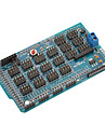 Mega-io Sensor-Erweiterungs Schild / Board fuer (fuer die Arduino) Mega v1.2 (funktioniert mit offiziellen (fuer Arduino) Platten)