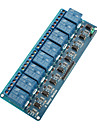8-Channel Relay Module Board w/ Optocoupler Isolation (Works with Official (For Arduino) Boards)