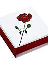 Classic Joyero rojo de papel para el collar (Rojo) (1 PC)