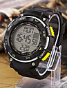 Menn mekaniske Digital Silicon Band Sports Chronograph Watch