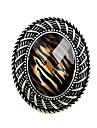 anillo de seccion oval de piedras preciosas 2.013 epoca de leopardo de las mujeres