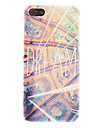 Dreaming Frescoes Pattern Smooth Hard Case for iPhone 5C