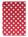 points ronds motif etui rouge pour Mini iPad 3, iPad Mini 2, Mini iPad