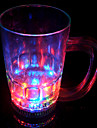 LED Flash Drept Beer Glass