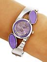 Women\'s Diamante Round Dial Quartz Analog Bracelet Watch