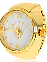 Women's Crown Pattern Gold Alloy Quartz Analog Ring Watch Cool Watches Unique Watches