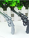 Cool Revolving Pistol Design Ball Point Pen(Random Color, 2 PCS)