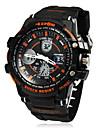 För män Multi-Function Round Dial Analog-Digital armbandsur (blandade färger)