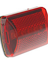 2-Mode 5xLed Saucer Bicycle Taillights (2xAA, Red+Black)
