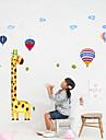 1PCS Värikäs Kirahvi Wall Tarra Lasten mittaaminen Korkeus
