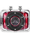HD720p-F5R Accion videocamara Mini (Rojo)