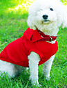 Dog Hoodie Red / White / Blue / Pink / Gray / Rose Spring/Fall Solid