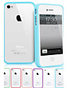 Transparent Anti-scratch Hard Case for iPhone 4/4S (Assorted Colors)