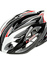 FJQXZ Integrally-molded EPS+PC Red and White Cycling Helmets (21 Vents)