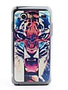 Tiger Head Pattern Protective PVC Back Case for Samsung Galaxy S Advance i9070