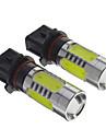 P13W H7 3W 200-300Lm 3 * 1.5Wcob Ampoules Auto-Blanc (12V)