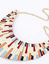varia collar bar longitud breve parrafo de aleacion (colores surtidos)
