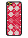 Reticular Grids Pattern Shimmering PC Hard Case for iPhone 5C