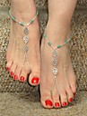 Body Jewelry/Anklet Barefoot Sandals Alloy Others Unique Design Fashion Royal Blue 1pc