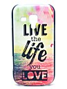 Live and Life of Sea Pattern Hard Case for Samsung Galaxy Trend Duos S7562