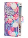 Dream Catcher Style Leather Case with Card Slot and Stand for LG Optimus L9 P760