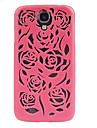 Hollow Out Flower Pattern Protective Case for Samsung Galaxy S4 i9500(Assorted Color)