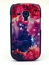 Space Star and Flower Pattern Hard Case for Samsung Galaxy S3 Mini I8190