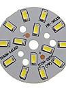 7W 600-650LM Cool White Light 5730SMD Integrated LED Module (21-24V)